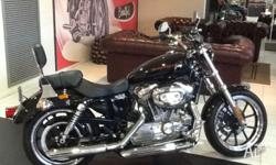 Genuine Pre Owned Sportster Superlow Vivid Black 883cc