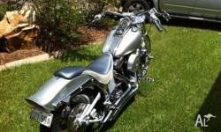 Custom bike way to much to mention it all billet front