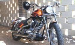 Excellent condition, S carb, White Brothers wide glide
