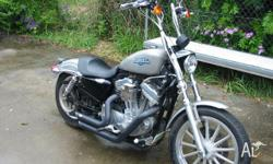 2009 Harley Davidson Sportster 883. Immaculate