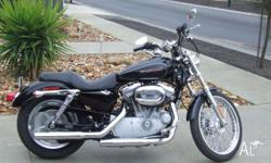 Harley davidson 883c sporster. I brought this bike