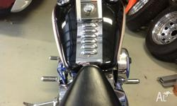 In good condition softail heritage qld reg