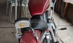 For Sale � sportster - 883 - custom 2007, Fire red