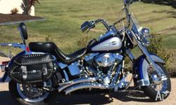 07 Hertiage Softail Excellent condition, VH pipes,