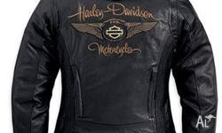 I am selling two Harley Davidson ladies leather