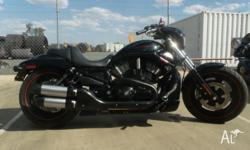 2007 Harley Davidson Nightrod 5000km mint condition,
