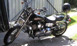 FXDL 2008 Harley, S&S Pipes, Screaming Eagle Kit,