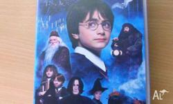 Harry Potter And The Philosopher's Stone VHS. Good
