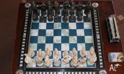 Harry Potter Collectable Chess Set Includes: Board All