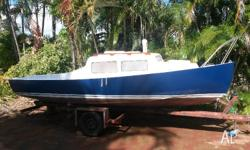 I'm selling my Hartley 18 trailer sailer from 1984.