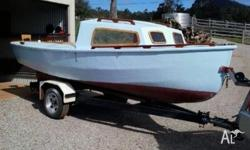 14ft Hartley boat on registered tilt trailer.