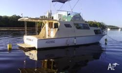 32ft Hartley Flybridge Radio, Gps, Deep Sounder, Gas