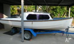 Sound sheathed wooden hull and aluminium spars, a range