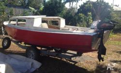 "16"" Hartley Trailer Sailer for sale. Has been sailed"