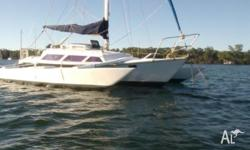 Hartley Sparkle Trimaran, Professionally Built, 30ft,