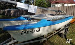 Registered trailer with 12 months rego Feb 2017. Sails