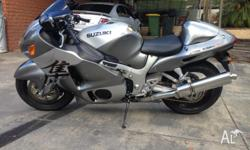 2002 hayabusa never droped , Delkevic cans , rare