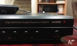 HD Set top box Teac HDB849 Works good!