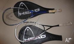 Head - Good Quality Squash Racquets Need new grip other