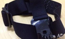 Head Strap Mount for GoPro & Kaiser Baas Features �