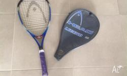 Head 'LEGEND' Tennis Racquet with cover. Hardly ever