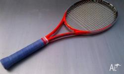 I am selling this Head Radical S racquet (2013 model)