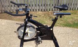 As new spin bike - Healthstream Gold Series. Excellent