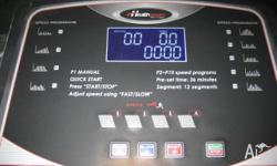 One Healthstream Walking/RunningMachine Selling due to