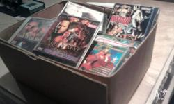 Box of Vcd's heaps, some new stil in wrap make an offer