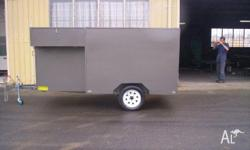 Heavy-Duty Trailers 8x5 Lawnmower Enclosed Trailer,