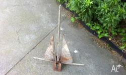 Heavy duty boat Anchor ideal for large boat cost $309