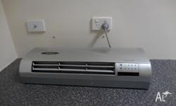 Heller wall unit (heating & Cooling) with remote In