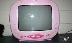 33cm Hello Kitty television has barely been used, good