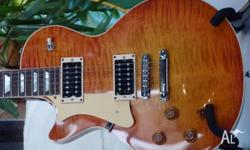 Heritage H150 electric guitar, 12 months old in as new
