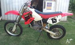 For Sale is a 2002 cr80r 2stroke has had full motor
