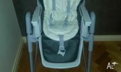 Baby high chair with tray Good used condition High and