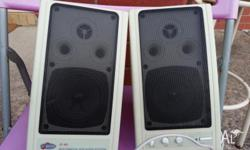 High power PC/Multimedia speaker system in a good
