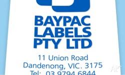 Find all types of self adhesive & custom printed labels