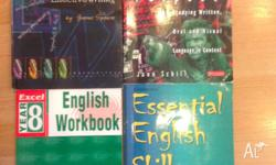 English textbook for sale. $5 the lot Excel english