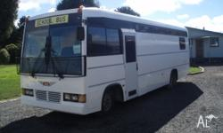 hino 1995 x school bus motorhome,unfinished