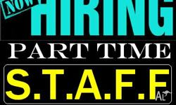 HIRING Part-Time Staff For Weekly Cash Jobs. You can do