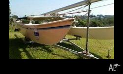 Hobie 16 in reasonable condition, two sets of sails,