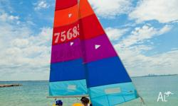 Hobie 16 for sale registered sail #75683. In great
