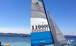 Hobie 16 in excellent condition. Very little use. Owned