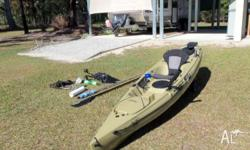 Hobie Revolution 11 Olive Colour. In new condition as