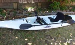 Hobie Mirage 2004 model -White - Mirage Drive, Paddle,