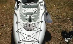 Hobie Mirage Fishing Kayak for sale. Comes with Mirage