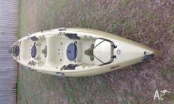 Hobie Oasis 2013, Olive colour, near new condition,