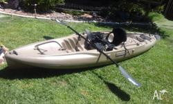 Hobie outback in very good condition used in rivers