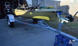 Up for sale is my beloved Hobie Pro Angler 12 and Redco